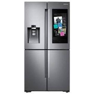 Samsung 22CF Counter-Depth  Stainless 4 Door Family Hub Refrigerator