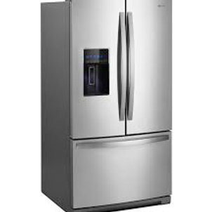 Whirlpool 27CF Stainless Refrigerator w/Dual Icemakers