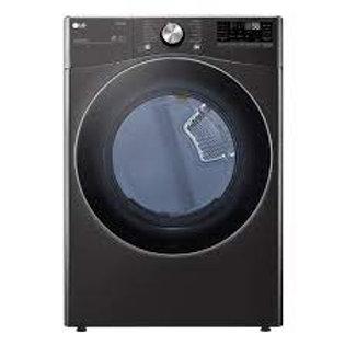 LG 7.4CF Smart wi-fi Enabled Electric Dryer w/TurboSteam™ in Black Steel