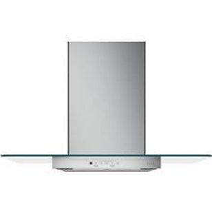 """GE Café™ 30"""" Stainless Wall-Mount Glass Canopy Chimney Hood"""