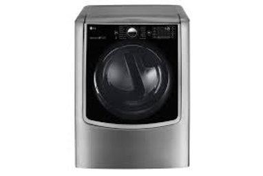 LG 9CF Mega-Capacity Smart wi-fi Electric Dryer w/TurboSteam™ in Graphite