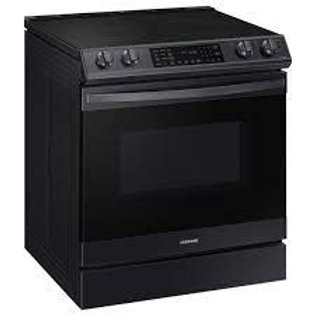 Samsung 6.3CF Smart Black Stainless Electric Range with AirFry