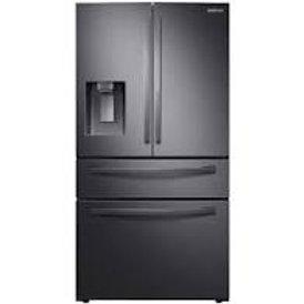 Samsung 22CF 4 Door Counter-Depth Black Stainless Refrigerator with Door-In-Door