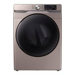 Samsung 7.5CF Electric Dryer with Steam Sanitize+ in Champagne