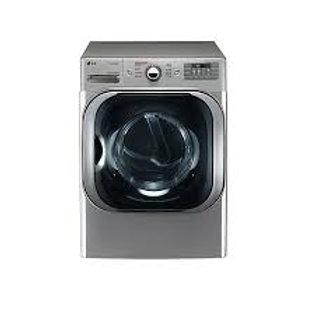 LG 9CF Mega-Capacity Smart wi-fi Electric Dryer w/TrueSteam® in Graphite