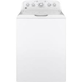 GE 4.5CF Top Load Washer w/Agitator and Stainless Steel Basket