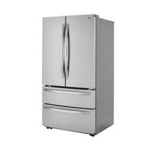 LG 23CF Smart WiFi Stainless Counter-Depth Refrigerator w/Int Water Dispense