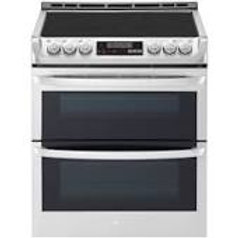 LG 7.3CF wi-fi Slide-In Double Electric Stainless Range w/ProBake and EasyClean