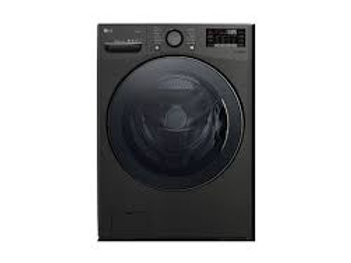 LG 4.5CF Front Load Washer with TurboWash® 360 in Black Stainless