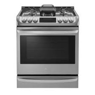 LG 6.3CF Stainless Slide-in Range with ProBake Convection® and EasyClean