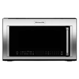 KitchenAid 1.9CF OTR Stainless Microwave w/Convection