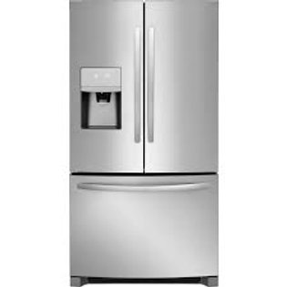 Frigidaire Gallery 22CF Counter-Depth Stainless Refrigerator w/Dual Ice Makers