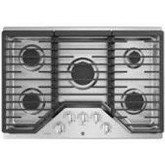 "GE Profile 30"" 5-Burner Stainless Gas Cooktop"