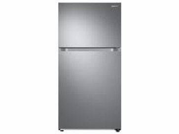 Samsung 21CF Stainless Refrigerator with FlexZone and Ice Maker