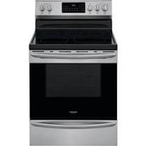 Frigidaire Gallery 5.7CF 5 Burner Convection Electric Stainless Range w/AirFry