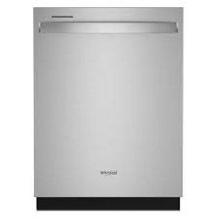 Whirlpool 47 dBA Stainless Dishwasher w/Third Rack
