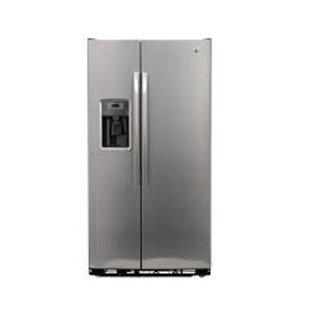 GE 25CF Stainless Refrigerator