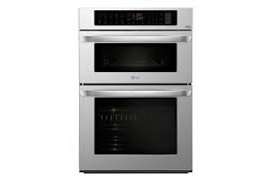 """LG 1.7/4.7CF 30"""" Smart wi-fi Enabled Combination Double Wall Oven"""