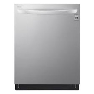 LG 42dBA wi-fi Enabled Stainless Dishwasher with QuadWash™ and TrueSteam®