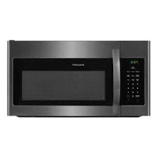 Frigidaire 1.8CF Black Stainless Over The Range Microwave