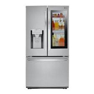 LG 28CF InstaView™ Door-in-Door® Stainless Refrigerator