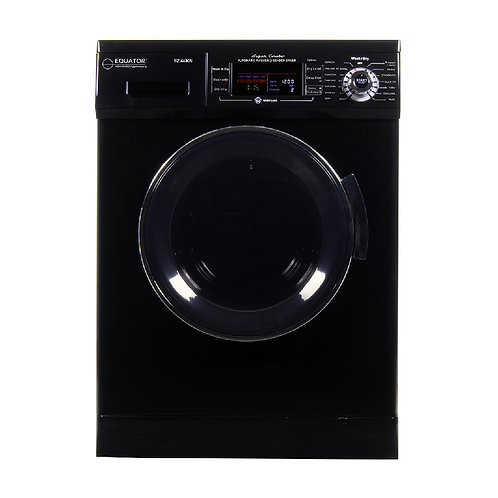 Equator All-In-One Compact Washer/Dryer in Black