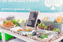 Marché aux légumes biologiques