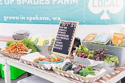 有機野菜市場