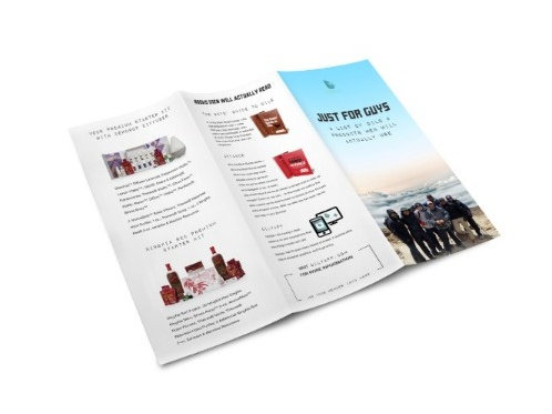 Just for Guys Brochure