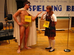 Marcy in The 25th...Spelling Bee