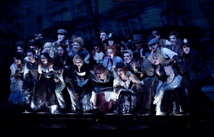 Ensemble in Sweeney Todd