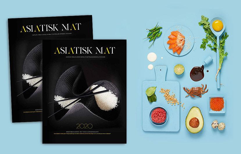 Boken asiatisk mat