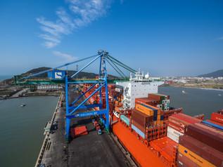 Nova Rota Ásia completa 1º mês de operação do Porto de Imbituba