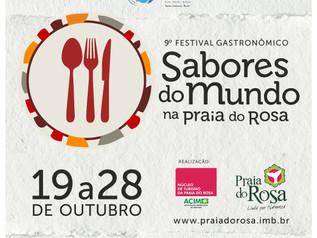 Sabores do Mundo: uma viagem à gastronomia na Praia do Rosa