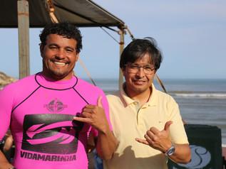 Surfistas de Imbituba são destaques no The Legends