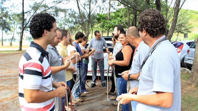 Colaboradores do Porto de Imbituba renovam treinamento para trabalho em espaços confinados