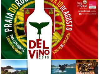 Vem aí: Del Vino Praia do Rosa 2019 – Vinhos de Portugal