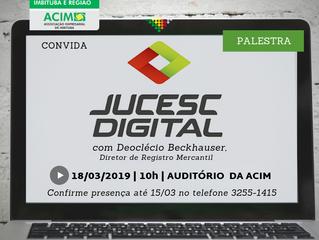 Junta Digital é tema de palestra na próxima segunda (18)