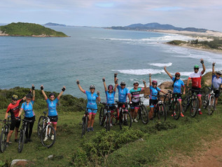 1º Pedalando pela vida: mais de 200 ciclistas são esperados na Praia do Rosa