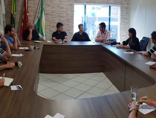 ACIM recebe visita da diretoria da SCPar Porto de Imbituba