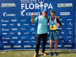 Gabriel Garcia vence a Maratona Internacional de Florianópolis