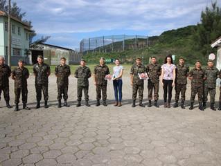 Militares do Exército visitam o Porto de Imbituba