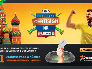 Promoção: Certisign na Rússia - compre na ACIM e concorra!