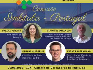 "Imbituba do Futuro: evento ""Conexão Imbituba – Portugal"" recebe vice-cônsul portuguesa"