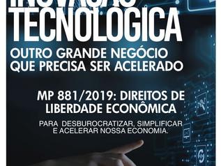 FACISC apoia MP da Liberdade Econômica que traz impacto para a inovação tecnológica