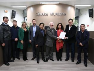 Imbituba conhece projeto para parceria com porto de Sines, em Portugal