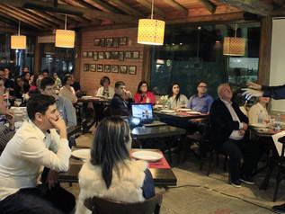 Empresário Eraldo da Rosa participa de Jantar de Negócios em Imbituba