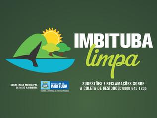 Imbituba limpa: projeto pretendeintensificar a separação correta do lixo
