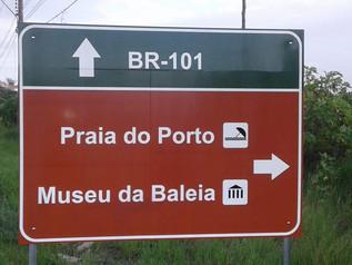 Placas são trocadas para facilitaracesso aos pontos turísticos