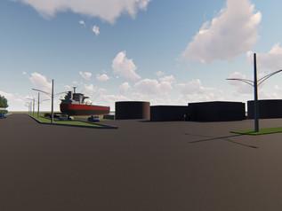 Lançado edital para remodelar iluminação das vias internas do Porto de Imbituba